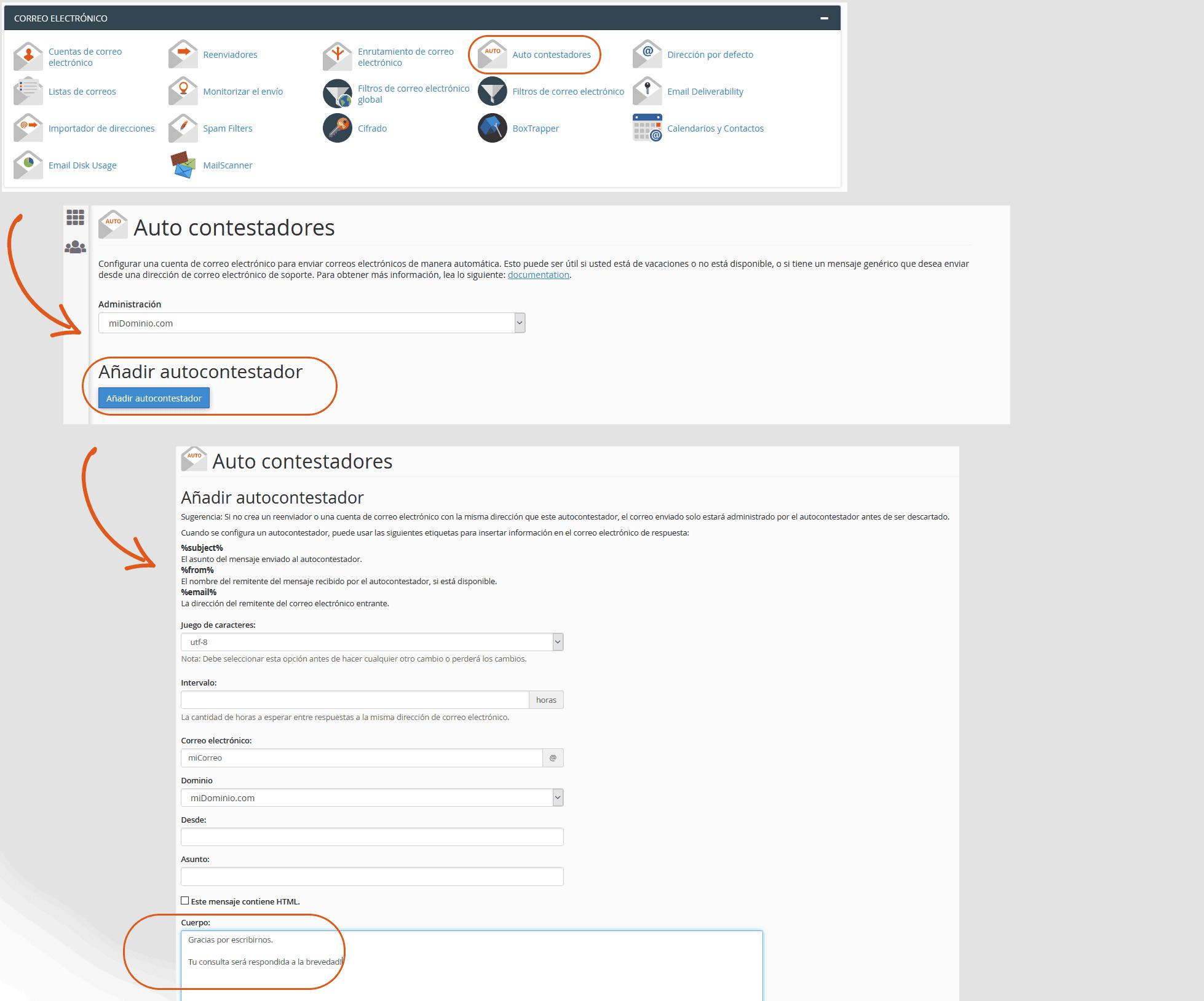 Nuevas opciones de cPanel 11.30 1