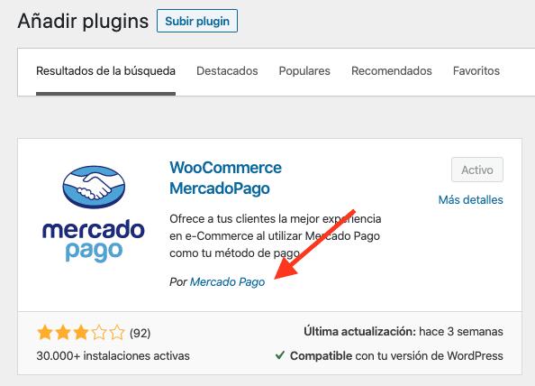 Integración entre WordPress y MercadoPago 1