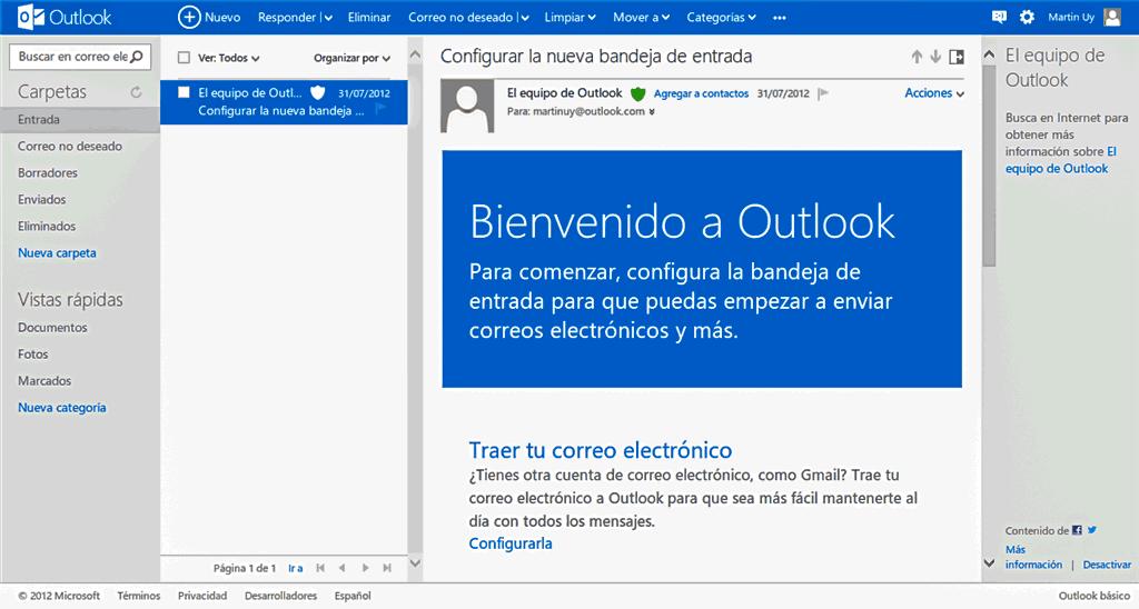 Gmail vs Outlook: Comparativa de características 1