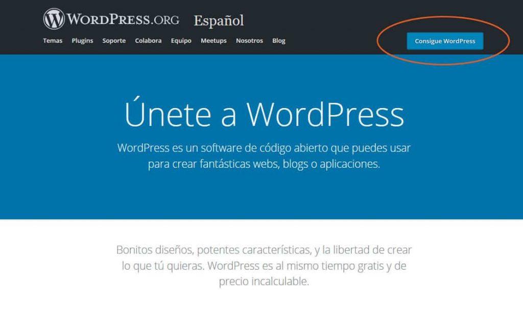 Cómo instalar WordPress con y sin panel de control 3