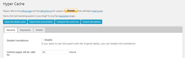 Comparativa de plugins para rendimiento en WordPress 4