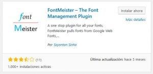 Mejores plugins de fuentes personalizadas de WordPress 13