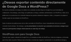 Publica en WordPress desde Google Docs 11