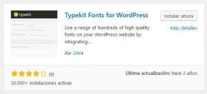 Mejores plugins de fuentes personalizadas de WordPress 10
