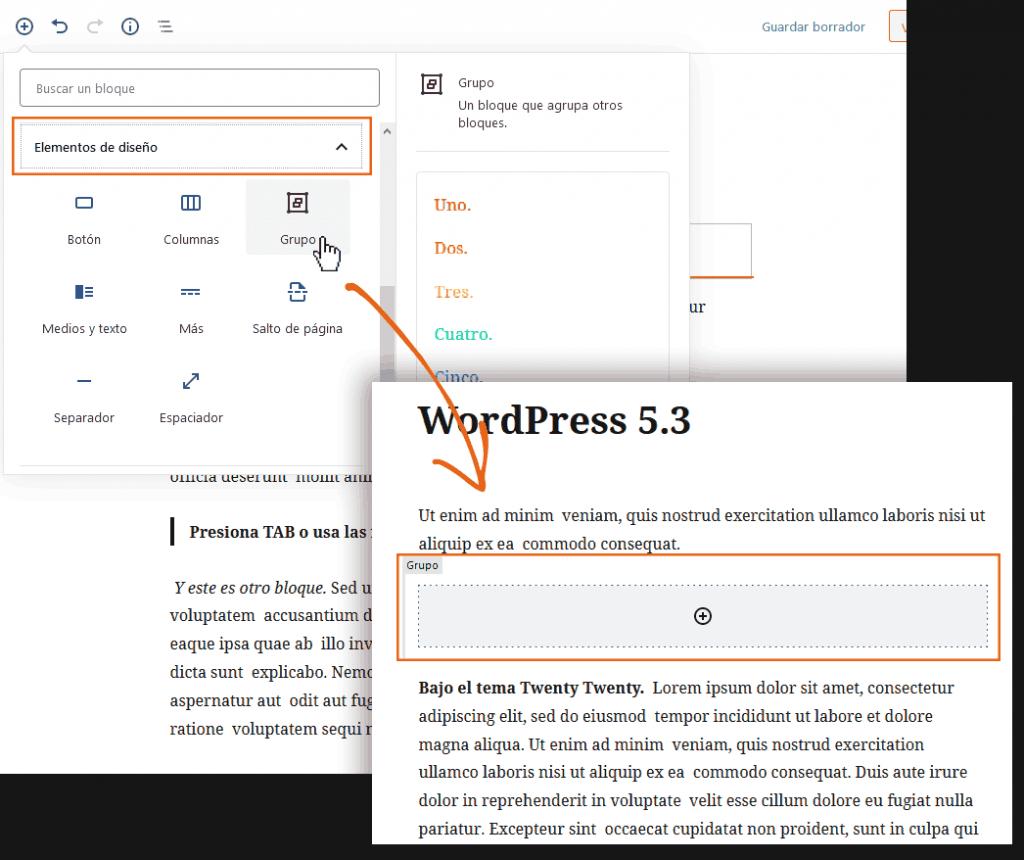 WordPress 5.3: análisis de sus 20 mejoras más poderosas 6
