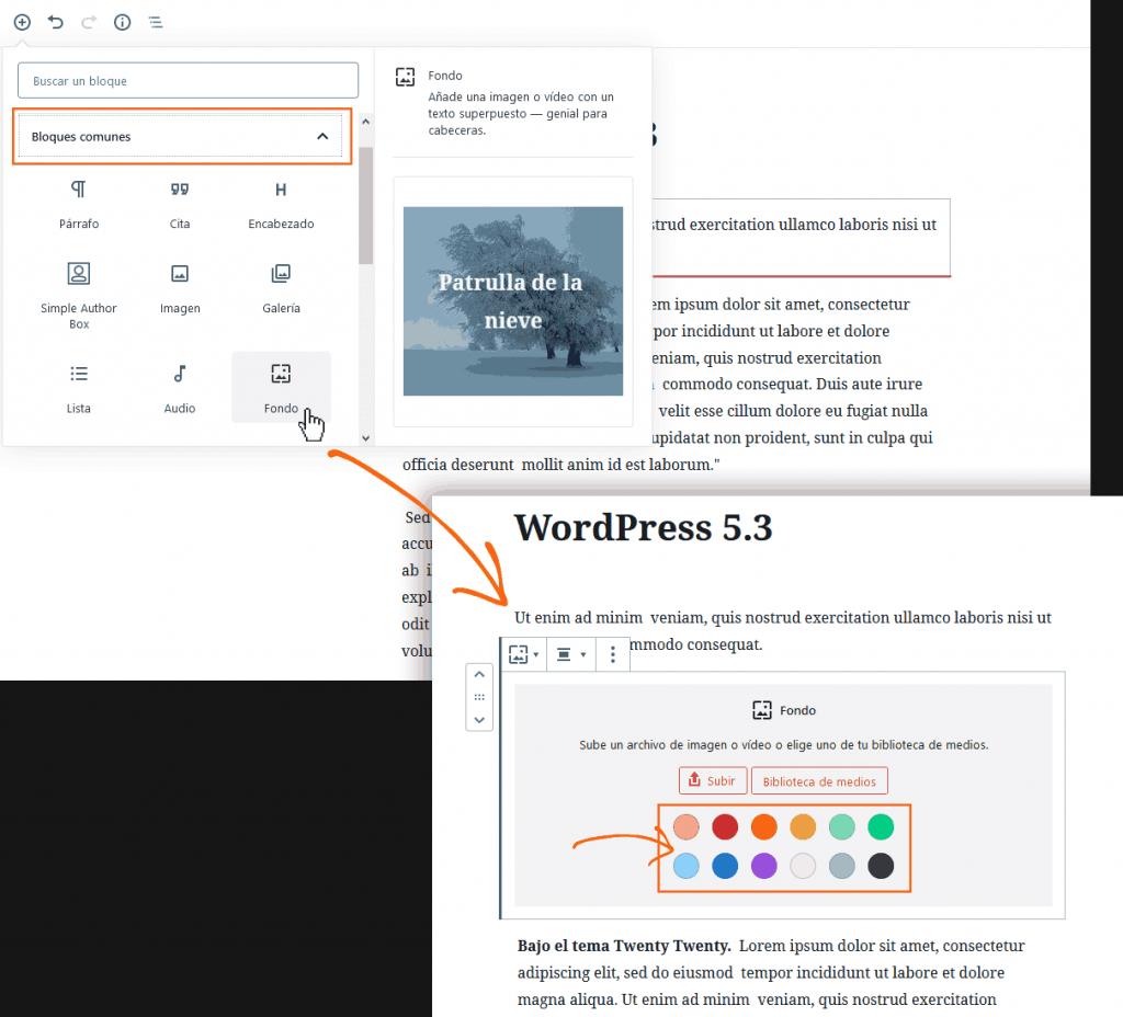 WordPress 5.3: análisis de sus 20 mejoras más poderosas 11