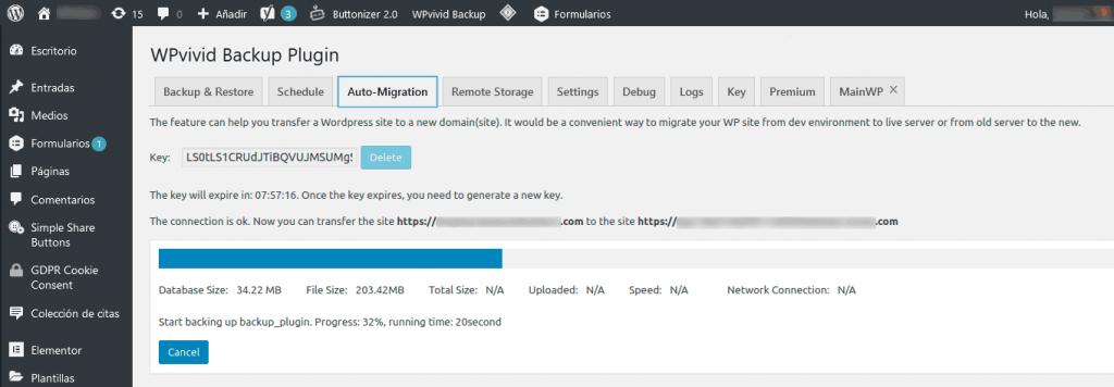 ¿Cómo migrar WordPress entre servidores? 11