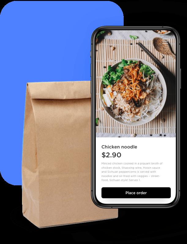 Plataforma digital para restaurantes y delivery 3