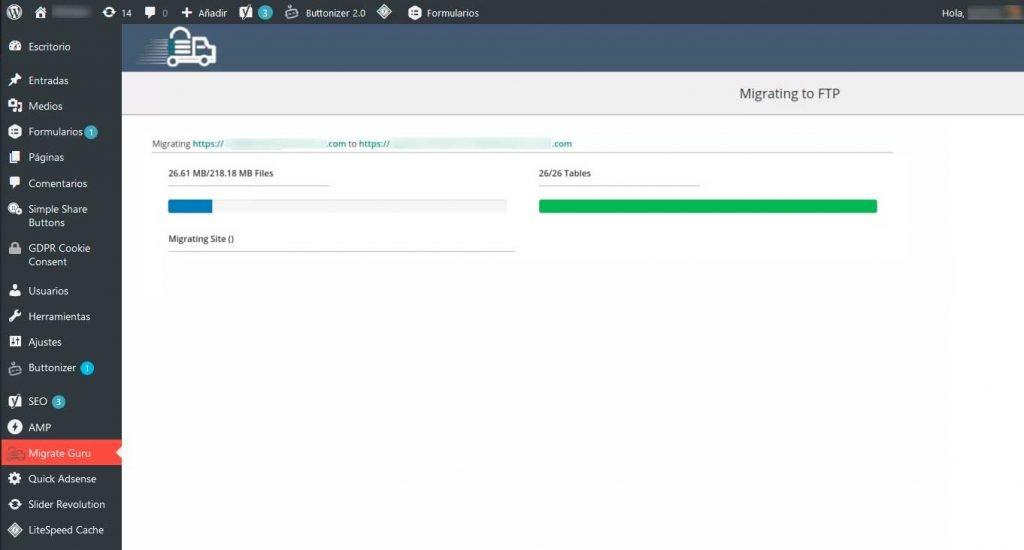 ¿Cómo migrar WordPress entre servidores? 6