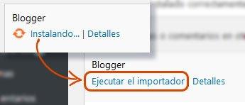 Cómo migrar Blogger a WordPress 5