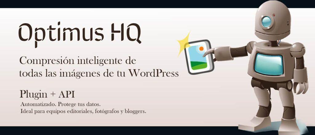 comprimir y mejorar imagenes en wordpress