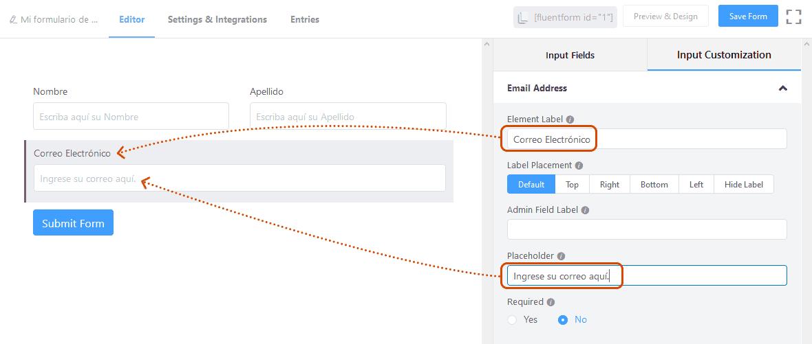 Crear formularios de contacto en WordPress 19