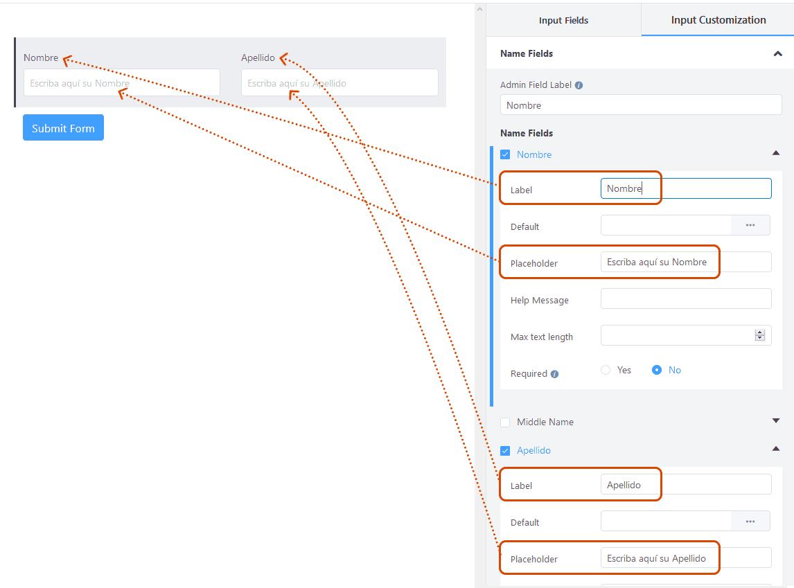 Crear formularios de contacto en WordPress 13