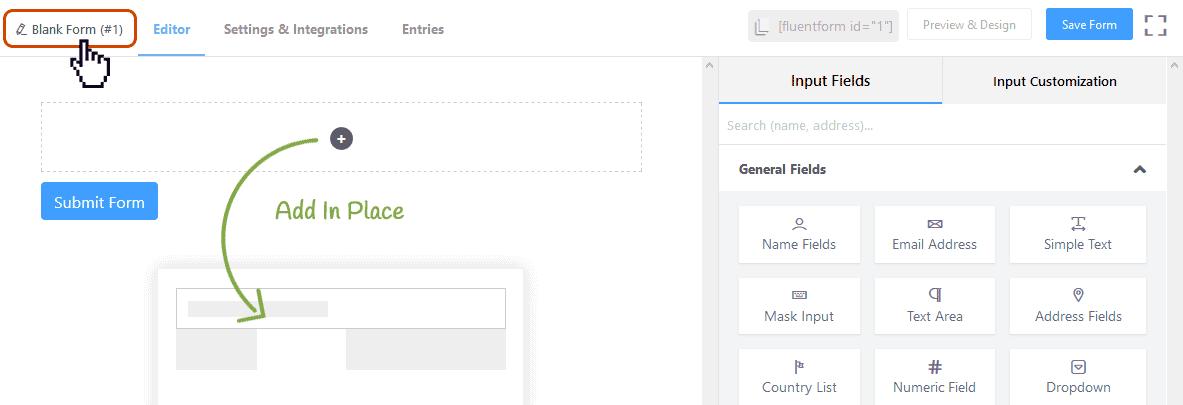 Crear formularios de contacto en WordPress 7