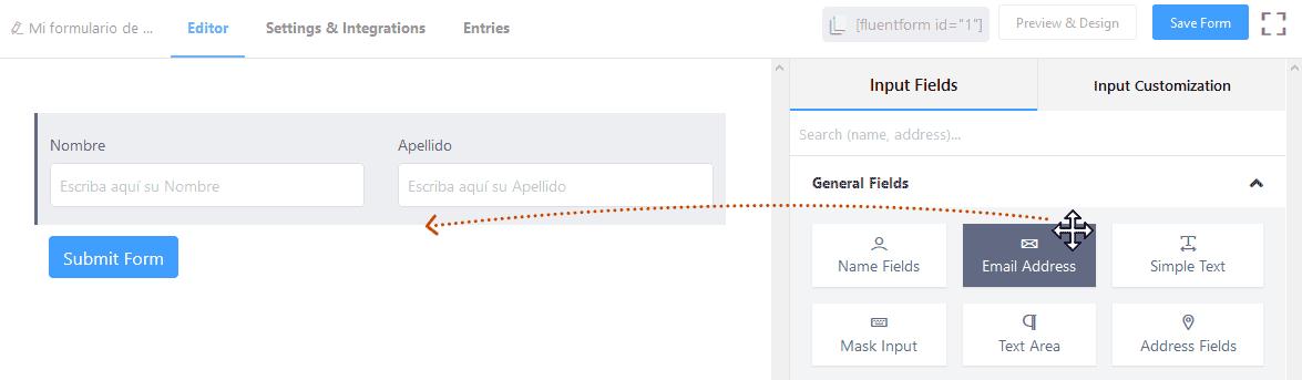 Crear formularios de contacto en WordPress 16
