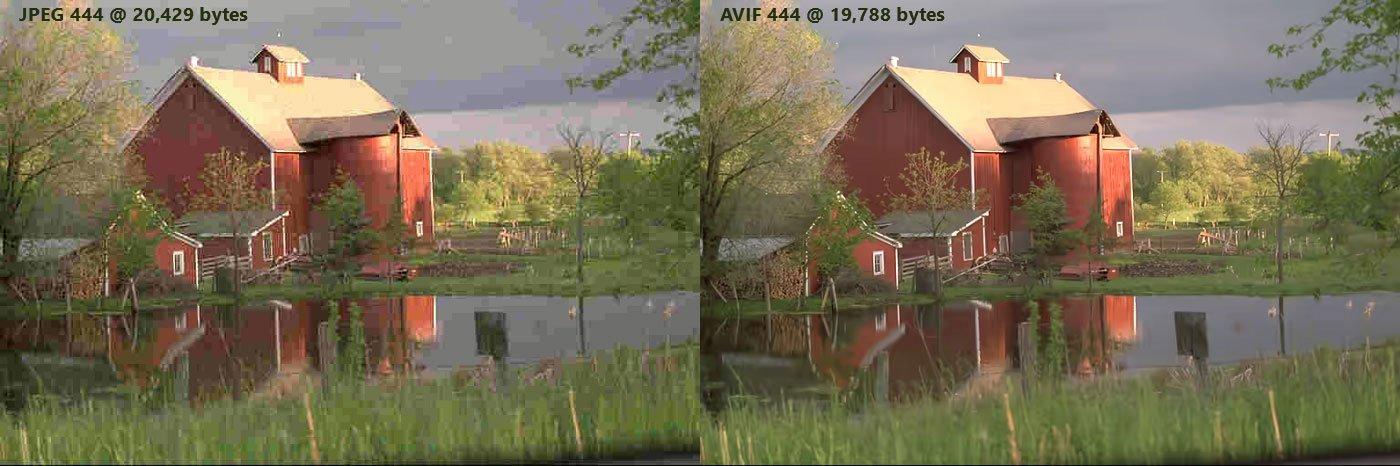 El nuevo formato AVIF para comprimir imágenes 1