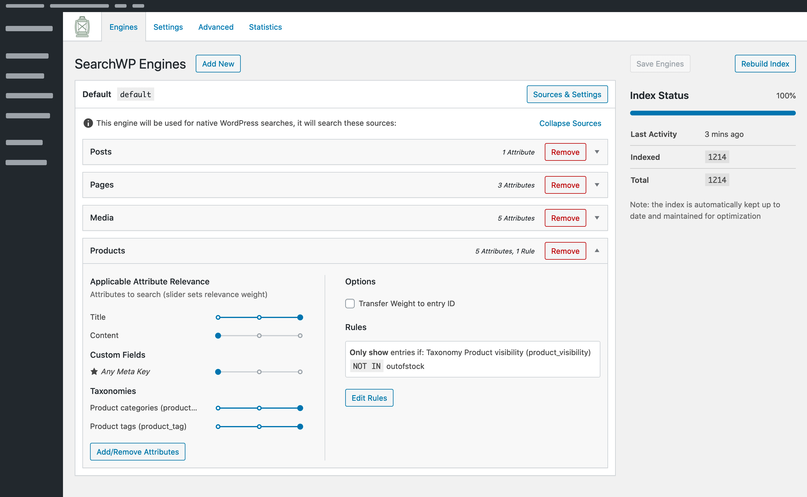 SearchWP, mejora las búsquedas en tu WordPress 3