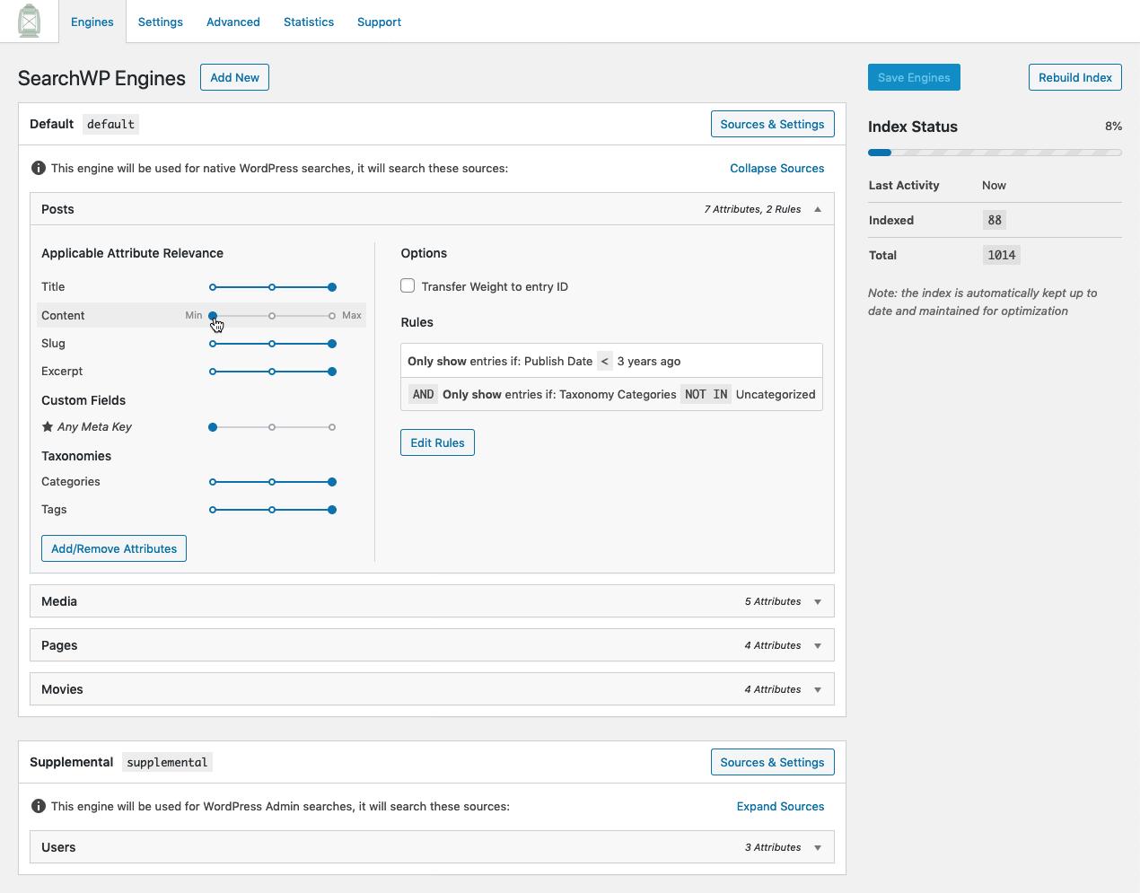 SearchWP, mejora las búsquedas en tu WordPress 10