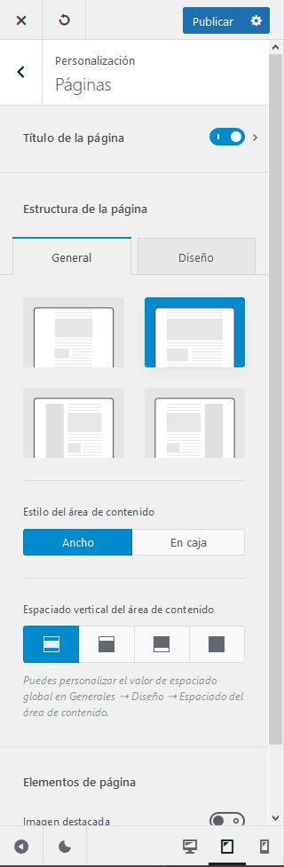 Blocksy: plantilla liviana para Gutenberg 11